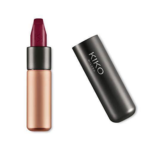 KIKO Milano Velvet Passion Matte Lipstick, 318 Burgundy, 3.5g