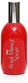 Royal mirage SPORT parfums eau de colohne spray 120ml