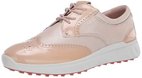 ECCO Women's S-Classic Hydromax Golf Shoe, Rose Dust/Rose Pearl, Numeric_11_Point_5