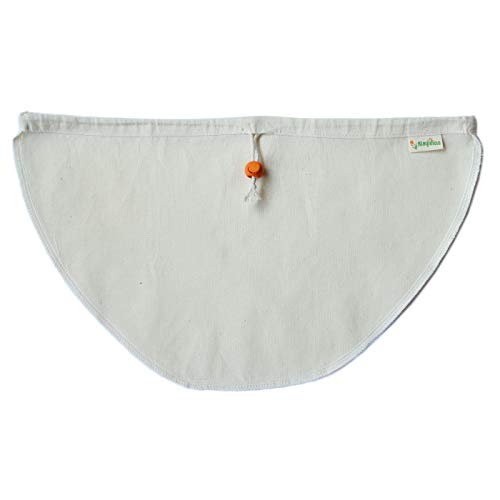 Kleynhuis Greek Yogurt Strainer Pouch, Organic Cotton (16'X9') / Reusable Cheesecloth Alternative