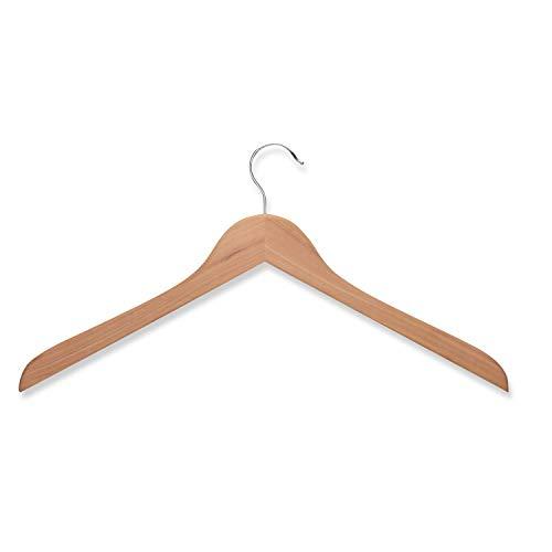 Honey-Can-Do Cedar Wood Shirt Hangers-5pk
