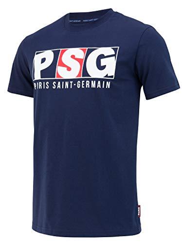PARIS SAINT GERMAIN Camiseta de algodón PSG - Colección Oficial Talla de Hombre S