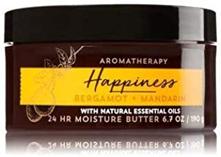 Bath and Body Works Aromatherapy Happiness Bergamot Mandarin Body Butter 6.7 Ounce