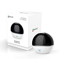 Compatible with Amazon Alexa, Google Assistant and IFTTT 360 Degree pan/tilt view with Automatic Motion Tracking Secure the interior of your home for peace of mind Push notifications sent to your phone when motion is detected View live or playback HD...
