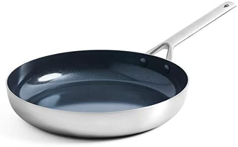 Blue Diamond Cookware Triple Steel Diamond Infused Ceramic Nonstick Frying Pan 11 Silver product image