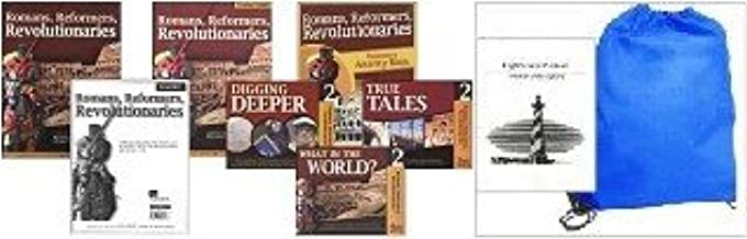 Romans, Reformers, Revolutionaries, Full Family Pack Diana Waring Homeschool Kit in a Bag