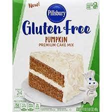 PILLSBURY GLUTEN FREE PUMPKIN PREMIUM CAKE MIX