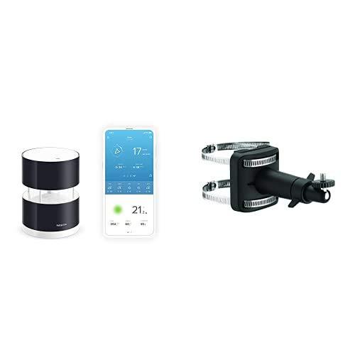 Netatmo Set Windmesser für die Smarte Wetterstation + Halterung