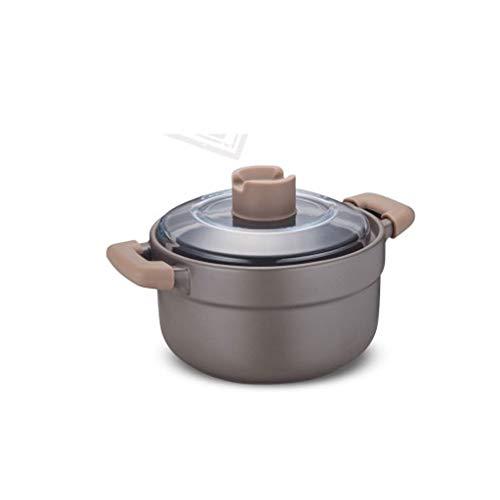 YWSZJ Cerámica Cazuela, cazuela, la cerámica de Hierro Fundido Antiadherente Bandeja de Revestimiento Sopa de Olla Grande Cocina de inducción Universal