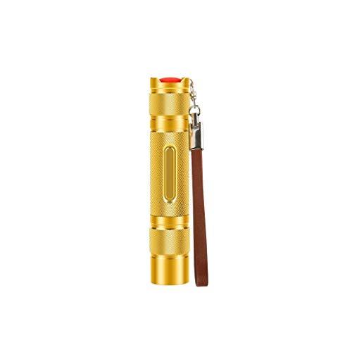 QZH Lámpara de iluminación, Linterna Linterna táctica Cargador de Cuna Linterna LED ultrabrillante de Alto lúmenes para Emergencia Camping Senderismo Al Aire Libre (A)