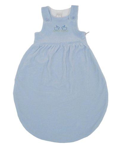 LANA natural wear Baby Mädchen Schlafsack blau sky Klein