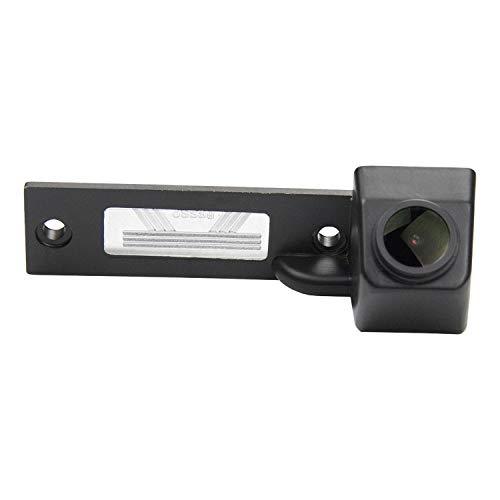 HD CCD Caméra de Recul Voiture en Couleur Kit Caméra vue arrière de voiture IP68 Vision Nocturne pour VW Caddy MK4 Golf R32 Passat B5 B6 Golf IV/Plus Sharan Touran T5 Skoda Superb