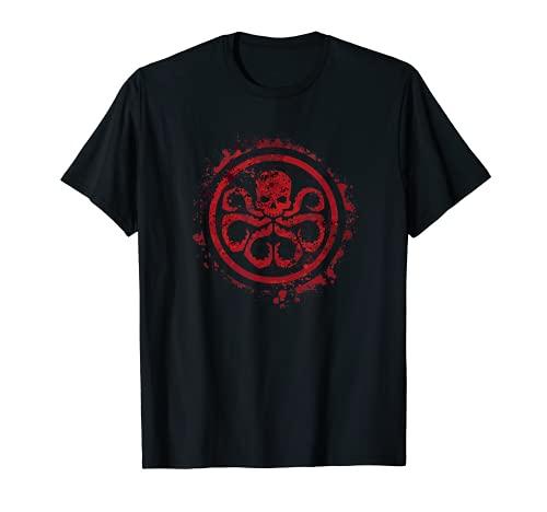 Marvel Hail Hydra Logo Graphic T-Shirt
