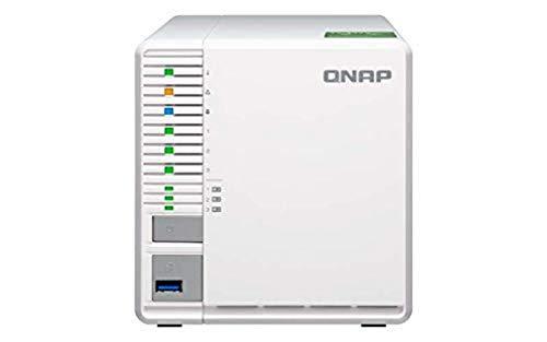 QNAP TS 332X 4G 3 Bay Desktop NAS Gehause mit 4 GB RAM