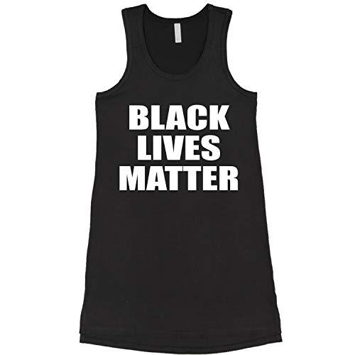 Expression Tees Black Lives Matter BLM Racerback LBD Little Black Dress