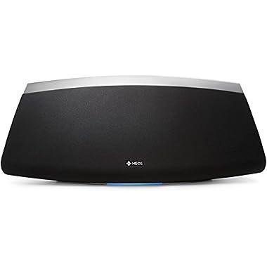 Denon HEOS 7 Wireless Speaker (Black) (New Version), Works with Alexa