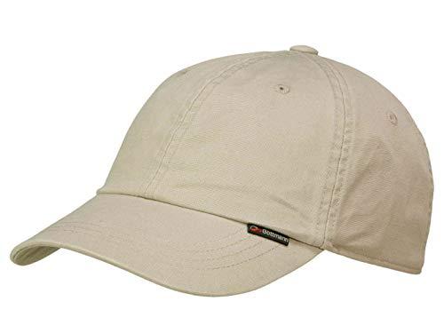 CANNES bEIGE casquette de baseball casquette de baseball en coton göttmann, Beige, M/56-57