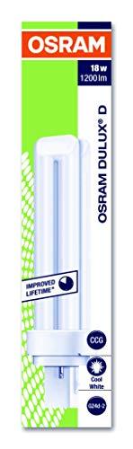 Osram G24d-2 DULUX D18W/840 Kompaktleuchtstofflampe EEK B 18W Cool White