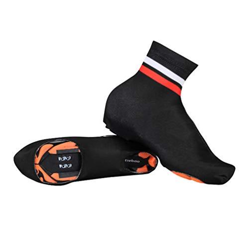 YUYAXPB Cubrezapatillas de Ciclismo, Cubiertas de Calzado Elásticas Impermeable, para MTB Cubrezapatos Bici, 39