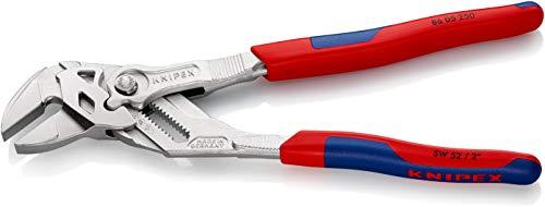 Knipex Zangenschlüssel – Greifzange und Schraubenschlüssel, 250 mm, Greifweite bis 46 mm - 2