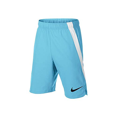 Nike Junior Boys Woven Vent Training Shorts (Sky Blue, Small)