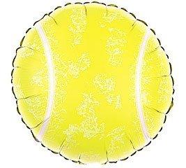 Qualatex 21893rotonda tennis palla palloncino foil, 45,7cm