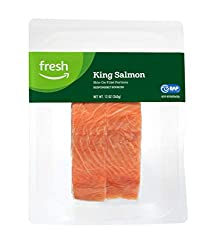 Fresh Brand – King Salmon Fillet Portions, 12 oz
