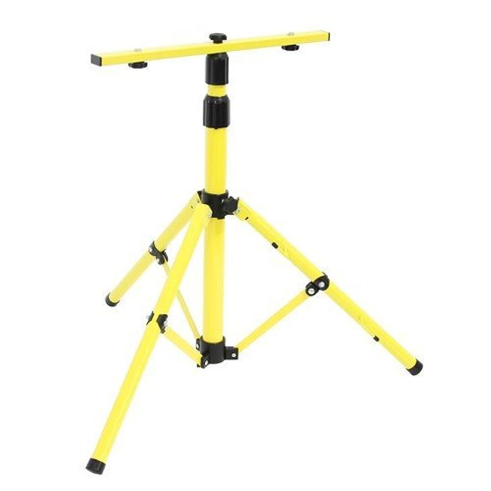 勤勉放牧する苦難Succul 投光器用三脚スタンド 作業用 1灯?2灯対応でき 伸縮可能 防水加工 屋外 アウトドア