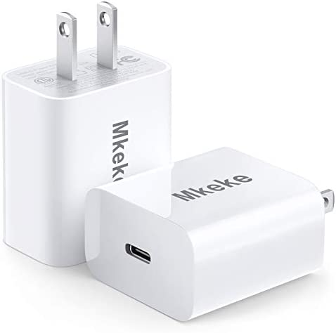 Mkeke 20W USB C Charger for Apple iPhone 12 Fast Type C Wall Charger of USB C Power Adapter product image
