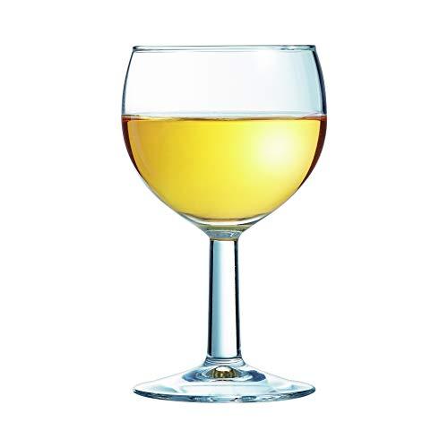 Arcoroc ARC 11937 Ballon rode wijnkelk, Weißweinkelch 190ml, zonder vulmarkering, 1