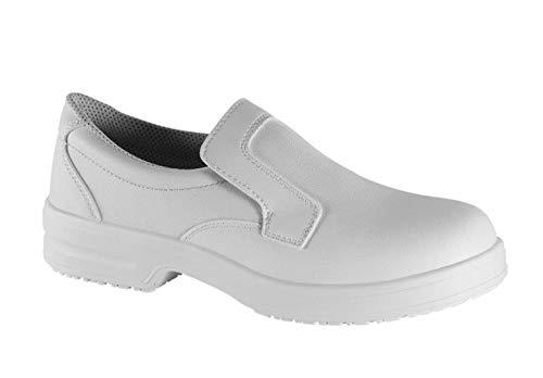 Safe Way Sicherheitsschuhe 00P311 weiß rutschhemmend mit Schutzkappe (44)