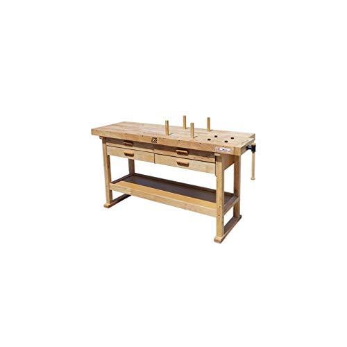 Holzmann – werkbank hout 1625 x 610 mm, 4 laden – WB162L – Holzmann