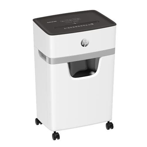 HP OneShred 2804 - Destructora de papel (10 MC, nivel de seguridad P-5, microcorte, 10 hojas)