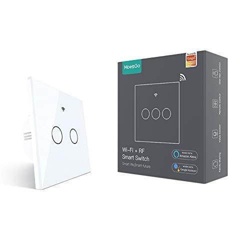 MoesGo Wifi Interruptor táctil con 1 vía o asociación de...