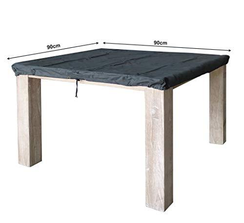 QUICK STAR Tischplattenhülle 90x90cm Schutzhülle wasserdicht
