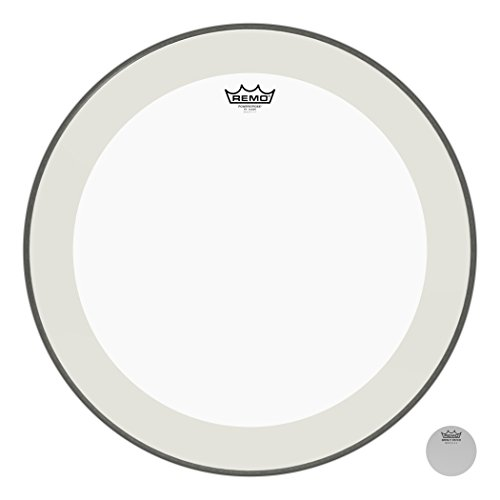 Remo Parches Powerstroke 4 Clear Bass Drum Head 22