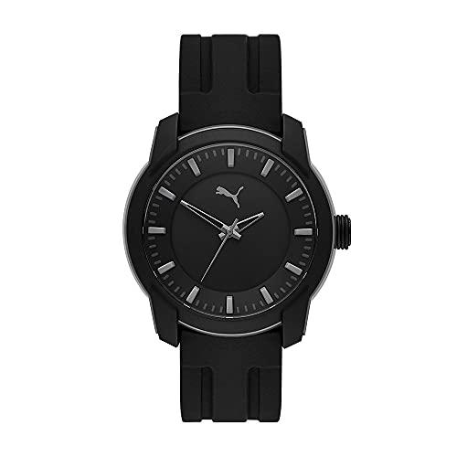 PUMA Herren Puma 2 Three-Hand, Grau Polycarbonate Uhr, P6018