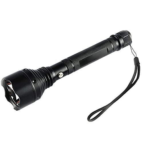 Linterna LED Alta Potencia, Portátil Linterna Impermeable, 5 Modos De Luz, Para Reparación Del Coche, Y Emergencia, Ciclismo, Camping, Montañismo