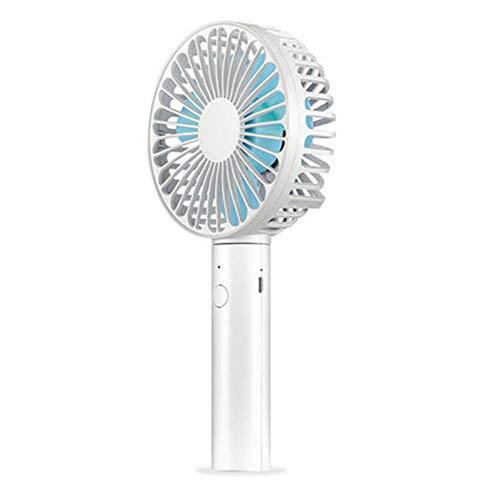 LIQIA Aire Acondicionado Pequeño Ventilador Eléctrico Agárralo Contigo Plegable Portátil Mini Mano Muda 1 Articulo (Color : B)