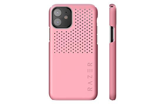 Razer Arctech Slim Schutzhülle für iPhone 11, Thermaphene und Venting Performance Cooling – kabelloses Laden kompatibel – Quarz Pink