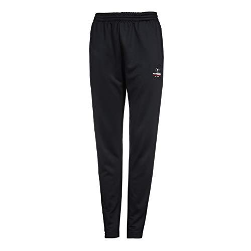 Patrick Exclusive Line - Pantalones de chándal para mujer, ideales para fitness, fútbol, tenis de mesa, jogging, badmitón y tenis, color negro