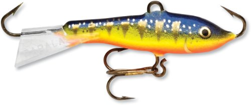 Rapala Jigging Rap 07 Fishing lure, 2.75-Inch, Glow Hot Perch