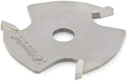 lowest Amana sale Tool - 53206 Slotting outlet sale Cutter 3 Wing x 1-7/8 Dia x 1/8 x 5/16 Inner Dia online