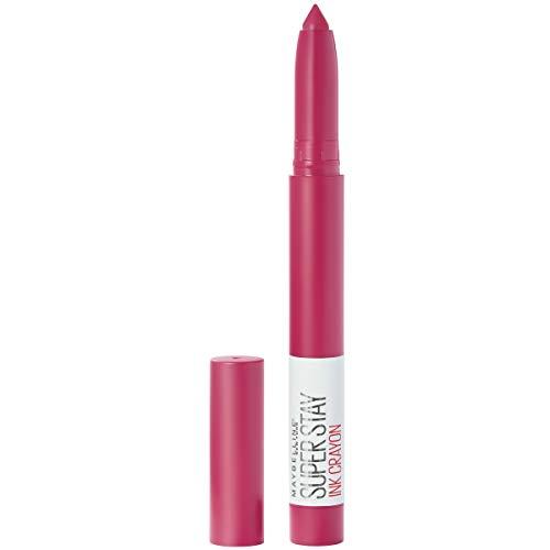 Maybelline SuperStay Ink Crayon Lipstick, Matte Longwear Lipstick Makeup, Treat Yourself