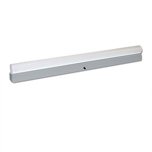 Linestra - Juego de bombillas LED (9 W = 60 W, 700 lm, luz blanca cálida, 2700 K, S14s, 2 casquillos, 50 cm), color gris
