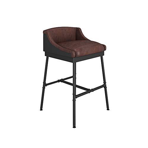 Loft Retro Stuhl zu tun die Alten Eisen Bar Stuhl Barhocker Lounge Stuhl Barhocker Barhocker amerikanischen Barhocker Rohre tun alte Retro Industrie Wind (Größe: H: 81CM)