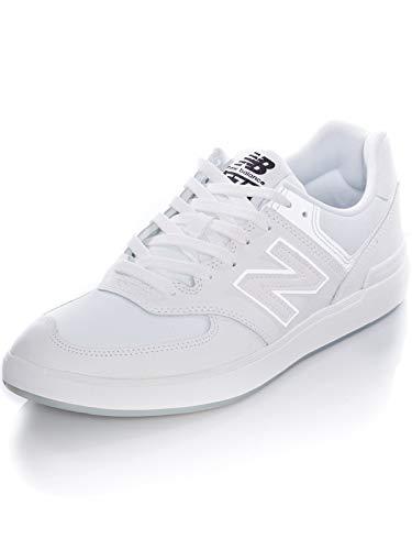 New Balance mens All Coasts 574 V1 Sneaker, White/White, 13 Wide US