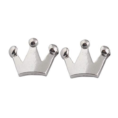 Game Kingdom Hearts - Pendientes de corona con forma de corona de Sora, para hombre y mujer