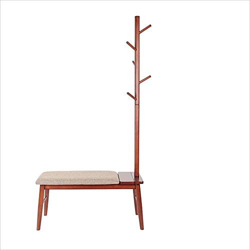 Zapateros Escudo Bastidores Solid Wood Hall Cambiar de Calzado Perchas 90 * 36 * 180cm (Color: Color de la Miel) Xuan - Worth Having (Color : Brown.)