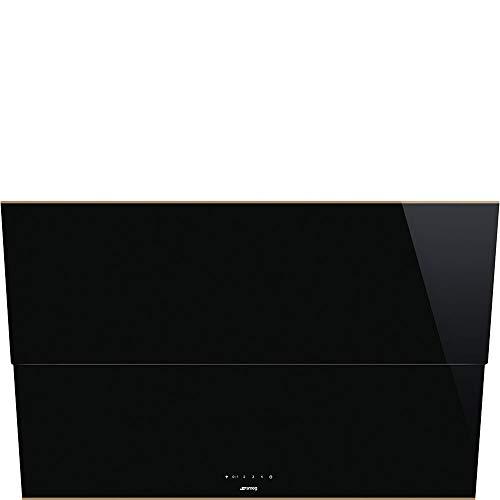 Smeg Dunstabzugshaube Dolce Stil Novo KSVV90NRA Wandhaube 90 cm Details aus Kupfer